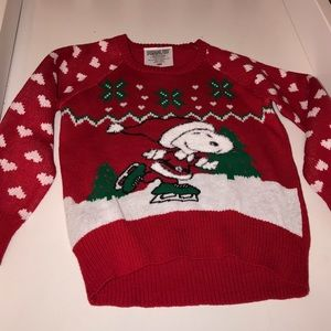 Other - Snoopy holiday sweater